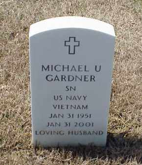 GARDNER (VETERAN VIET), MICHAEL U - Pulaski County, Arkansas | MICHAEL U GARDNER (VETERAN VIET) - Arkansas Gravestone Photos