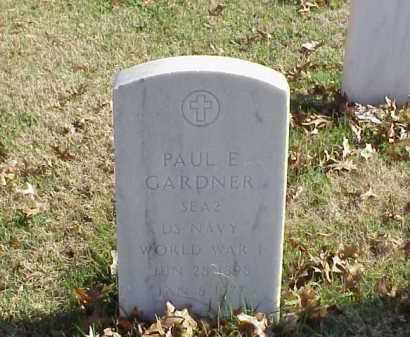 GARDNER (VETERAN WWI), PAUL E - Pulaski County, Arkansas | PAUL E GARDNER (VETERAN WWI) - Arkansas Gravestone Photos