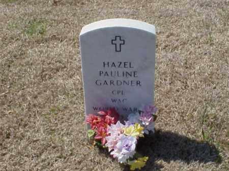 CHRESTMAN GARDNER (VETERAN WWI, HAZEL PAULINE - Pulaski County, Arkansas | HAZEL PAULINE CHRESTMAN GARDNER (VETERAN WWI - Arkansas Gravestone Photos