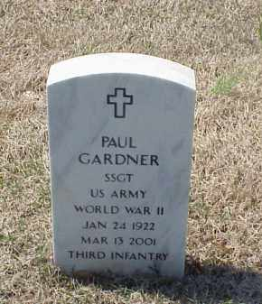 GARDNER (VETERAN WWII), PAUL - Pulaski County, Arkansas | PAUL GARDNER (VETERAN WWII) - Arkansas Gravestone Photos