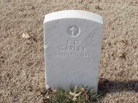 GARLEY (VETERAN UNION), I D - Pulaski County, Arkansas | I D GARLEY (VETERAN UNION) - Arkansas Gravestone Photos