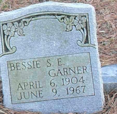 GARNER, BESSIE S E - Pulaski County, Arkansas | BESSIE S E GARNER - Arkansas Gravestone Photos