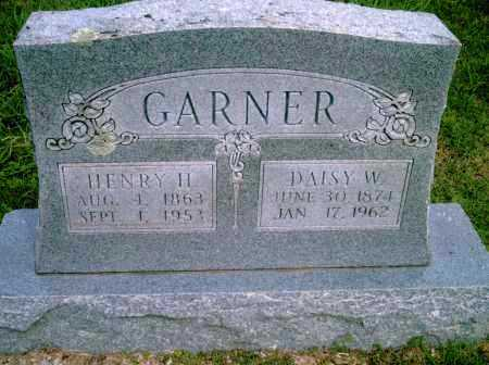 GARNER, DAISY W - Pulaski County, Arkansas | DAISY W GARNER - Arkansas Gravestone Photos