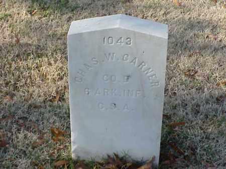 GARNER (VETERAN CSA), CHARLES WESLEY - Pulaski County, Arkansas | CHARLES WESLEY GARNER (VETERAN CSA) - Arkansas Gravestone Photos