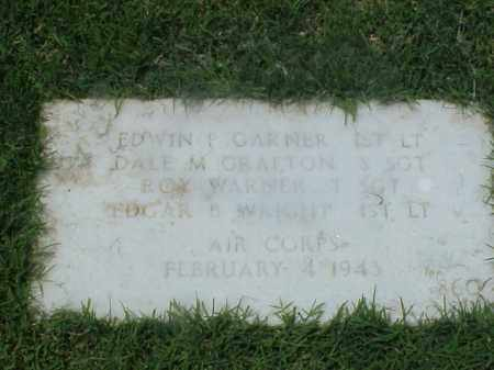 WRIGHT (VETERAN WWII), EDGAR B - Pulaski County, Arkansas | EDGAR B WRIGHT (VETERAN WWII) - Arkansas Gravestone Photos