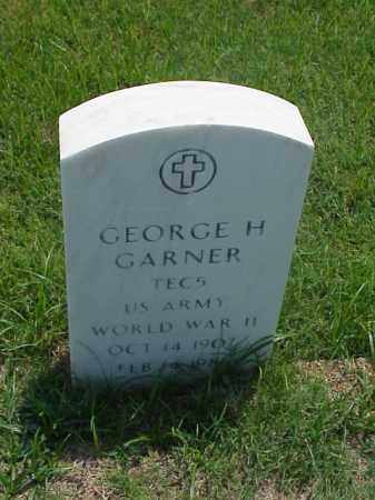 GARNER (VETERAN WWII), GEORGE H - Pulaski County, Arkansas | GEORGE H GARNER (VETERAN WWII) - Arkansas Gravestone Photos