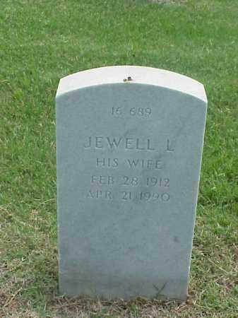 GARNETT, JEWELL L - Pulaski County, Arkansas | JEWELL L GARNETT - Arkansas Gravestone Photos