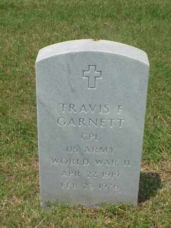 GARNETT (VETERAN WWII), TRAVIS F - Pulaski County, Arkansas | TRAVIS F GARNETT (VETERAN WWII) - Arkansas Gravestone Photos