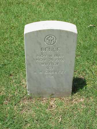 GARRETT, BELLE - Pulaski County, Arkansas | BELLE GARRETT - Arkansas Gravestone Photos
