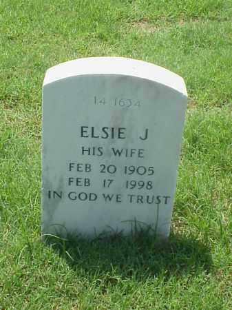 GARRETT, ELSIE J - Pulaski County, Arkansas | ELSIE J GARRETT - Arkansas Gravestone Photos