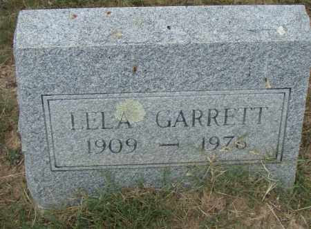 GARRETT, LELA - Pulaski County, Arkansas | LELA GARRETT - Arkansas Gravestone Photos