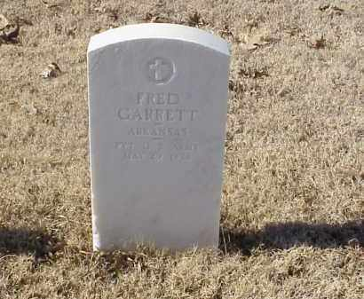 GARRETT (VETERAN WWI), FRED - Pulaski County, Arkansas | FRED GARRETT (VETERAN WWI) - Arkansas Gravestone Photos