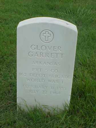 GARRETT (VETERAN WWI), GLOVER - Pulaski County, Arkansas | GLOVER GARRETT (VETERAN WWI) - Arkansas Gravestone Photos