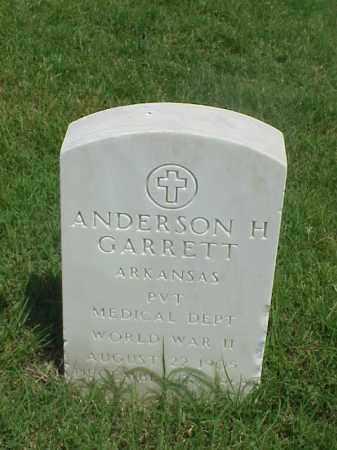GARRETT (VETERAN WWII), ANDERSON H - Pulaski County, Arkansas | ANDERSON H GARRETT (VETERAN WWII) - Arkansas Gravestone Photos