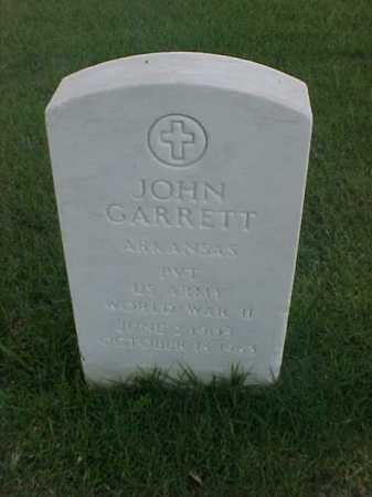 GARRETT (VETERAN WWII), JOHN - Pulaski County, Arkansas | JOHN GARRETT (VETERAN WWII) - Arkansas Gravestone Photos