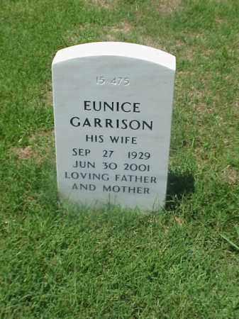 GARRISON, EUNICE - Pulaski County, Arkansas | EUNICE GARRISON - Arkansas Gravestone Photos