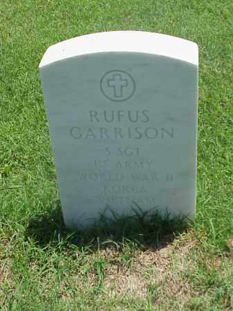 GARRISON (VETERAN 3 WARS), RUFUS - Pulaski County, Arkansas | RUFUS GARRISON (VETERAN 3 WARS) - Arkansas Gravestone Photos