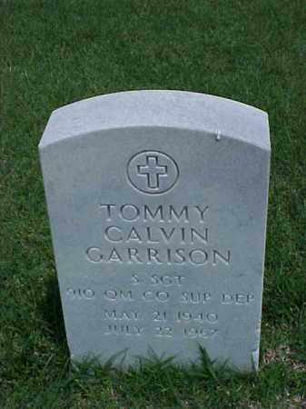 GARRISON (VETERAN), TOMMY CALVIN - Pulaski County, Arkansas | TOMMY CALVIN GARRISON (VETERAN) - Arkansas Gravestone Photos