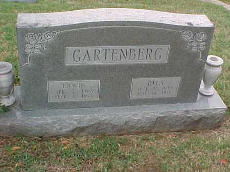 GARTENBERG, ERWIN - Pulaski County, Arkansas | ERWIN GARTENBERG - Arkansas Gravestone Photos