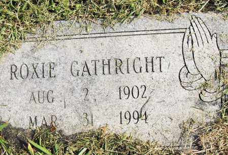 GATHRIGHT, ROXIE - Pulaski County, Arkansas | ROXIE GATHRIGHT - Arkansas Gravestone Photos