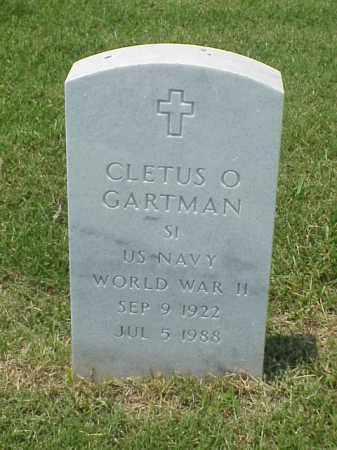 GARTMAN (VETERAN WWII), CLETUS O - Pulaski County, Arkansas | CLETUS O GARTMAN (VETERAN WWII) - Arkansas Gravestone Photos