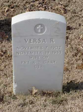 GARY, VERSA R. - Pulaski County, Arkansas | VERSA R. GARY - Arkansas Gravestone Photos