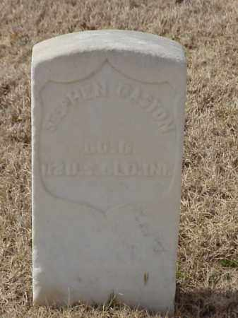 GASTON (VETERAN UNION), STEPHEN - Pulaski County, Arkansas | STEPHEN GASTON (VETERAN UNION) - Arkansas Gravestone Photos