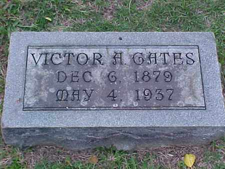 GATES, VICTOR A - Pulaski County, Arkansas | VICTOR A GATES - Arkansas Gravestone Photos