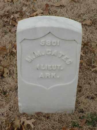 GATES (VETERAN UNION), M M - Pulaski County, Arkansas | M M GATES (VETERAN UNION) - Arkansas Gravestone Photos