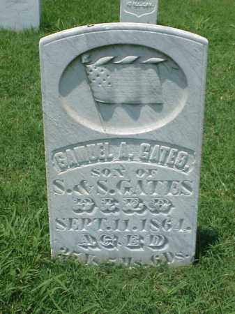GATES (VETERAN UNION), SAMUEL A - Pulaski County, Arkansas | SAMUEL A GATES (VETERAN UNION) - Arkansas Gravestone Photos