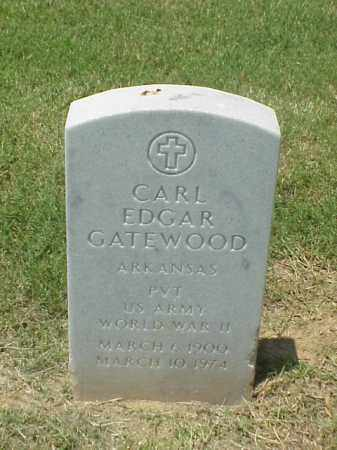 GATEWOOD (VETERAN WWII), CARL EDGAR - Pulaski County, Arkansas | CARL EDGAR GATEWOOD (VETERAN WWII) - Arkansas Gravestone Photos