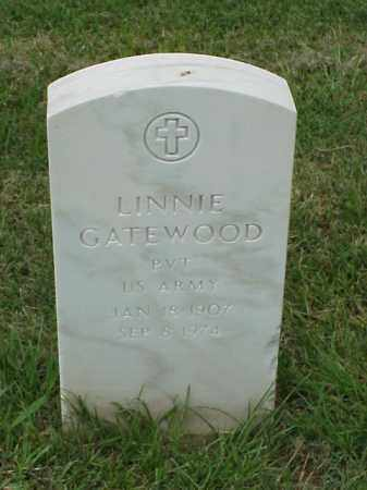GATEWOOD (VETERAN WWII), LINNIE - Pulaski County, Arkansas | LINNIE GATEWOOD (VETERAN WWII) - Arkansas Gravestone Photos
