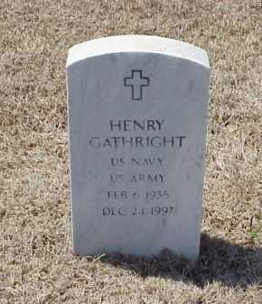 GATHRIGHT (VETERAN), HENRY - Pulaski County, Arkansas | HENRY GATHRIGHT (VETERAN) - Arkansas Gravestone Photos
