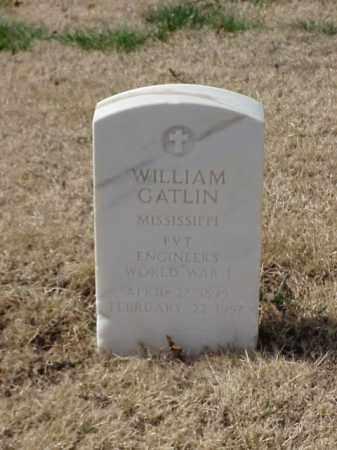 GATLIN (VETERAN WWI), WILLIAM - Pulaski County, Arkansas | WILLIAM GATLIN (VETERAN WWI) - Arkansas Gravestone Photos