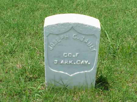 GAULT (VETERAN UNION), JOSEPH C - Pulaski County, Arkansas | JOSEPH C GAULT (VETERAN UNION) - Arkansas Gravestone Photos