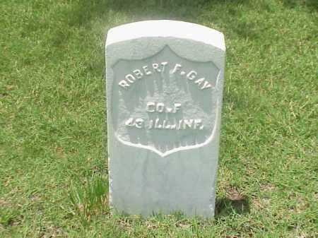 GAY (VETERAN UNION), ROBERT F - Pulaski County, Arkansas | ROBERT F GAY (VETERAN UNION) - Arkansas Gravestone Photos