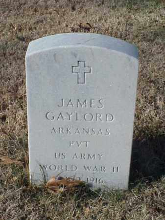 GAYLORD (VETERAN WWII), JAMES - Pulaski County, Arkansas | JAMES GAYLORD (VETERAN WWII) - Arkansas Gravestone Photos