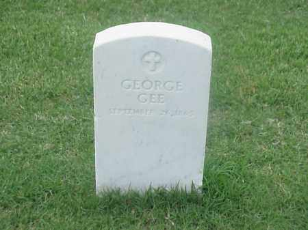 GEE (VETERAN UNION), GEORGE - Pulaski County, Arkansas | GEORGE GEE (VETERAN UNION) - Arkansas Gravestone Photos