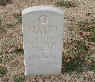 GENTRY (VETERAN KOR), ARGLISTER - Pulaski County, Arkansas | ARGLISTER GENTRY (VETERAN KOR) - Arkansas Gravestone Photos