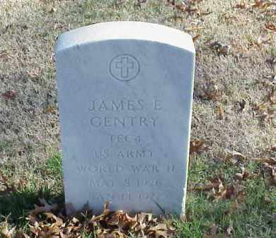 GENTRY (VETERAN WWII), JAMES E - Pulaski County, Arkansas | JAMES E GENTRY (VETERAN WWII) - Arkansas Gravestone Photos