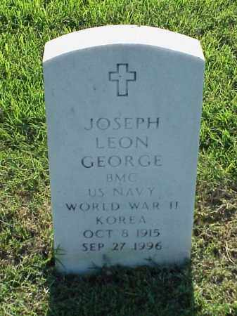 GEORGE (VETERAN 2 WARS), JOSEPH LEON - Pulaski County, Arkansas | JOSEPH LEON GEORGE (VETERAN 2 WARS) - Arkansas Gravestone Photos