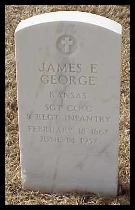 GEORGE (VETERAN), JAMES E - Pulaski County, Arkansas | JAMES E GEORGE (VETERAN) - Arkansas Gravestone Photos