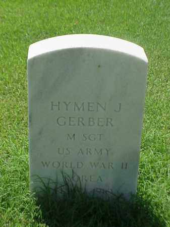 GERBER (VETERAN 2 WARS), HYMEN J - Pulaski County, Arkansas | HYMEN J GERBER (VETERAN 2 WARS) - Arkansas Gravestone Photos