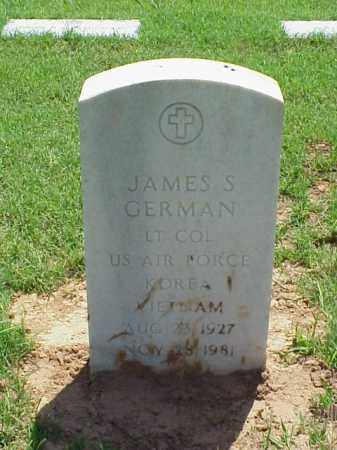 GERMAN (VETERAN 2 WARS), JAMES S - Pulaski County, Arkansas | JAMES S GERMAN (VETERAN 2 WARS) - Arkansas Gravestone Photos