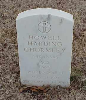 GHORMLEY  (VETERAN WWII), HOWELL HARDING - Pulaski County, Arkansas | HOWELL HARDING GHORMLEY  (VETERAN WWII) - Arkansas Gravestone Photos
