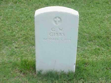 GIBBS (VETERAN UNION), G W - Pulaski County, Arkansas | G W GIBBS (VETERAN UNION) - Arkansas Gravestone Photos
