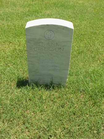 GIBERSON (VETERAN WWI), FRANK - Pulaski County, Arkansas | FRANK GIBERSON (VETERAN WWI) - Arkansas Gravestone Photos