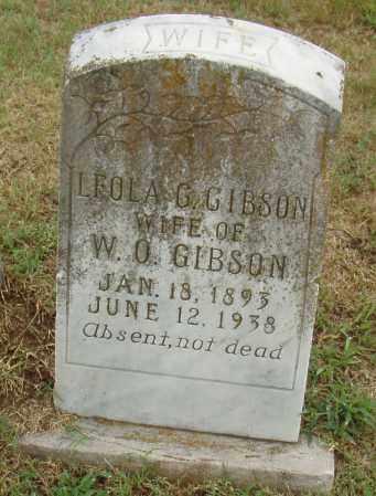 GIBSON, LEOLA G. - Pulaski County, Arkansas | LEOLA G. GIBSON - Arkansas Gravestone Photos