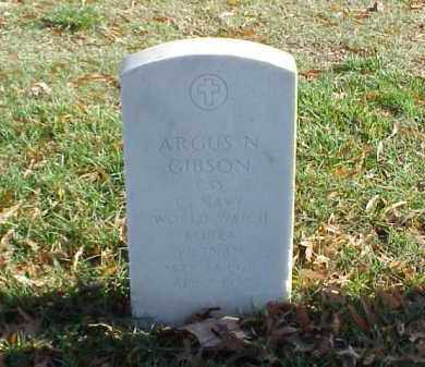 GIBSON (VETERAN 3 WARS), ARGUS N - Pulaski County, Arkansas | ARGUS N GIBSON (VETERAN 3 WARS) - Arkansas Gravestone Photos