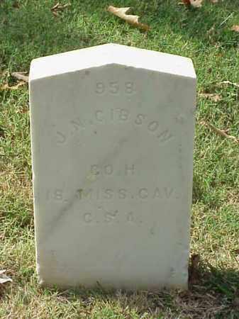 GIBSON (VETERAN CSA), J N - Pulaski County, Arkansas | J N GIBSON (VETERAN CSA) - Arkansas Gravestone Photos